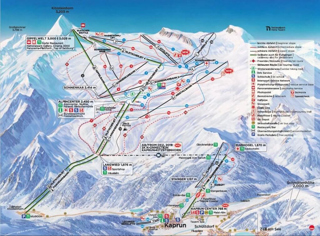 Zell Am See Kaprun Skijanje Austrija Palma Travel